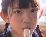 長澤茉里奈がセーラー服を脱いでFカップおっぱい